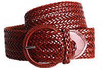 Женский плетеный пояс Dovhani PY4597396 95-110 см Коричневый