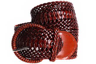 Женский плетеный пояс Dovhani PY4708404 105 см Коричневый, фото 2