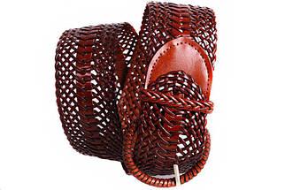 Женский плетеный пояс Dovhani PY4708404 105 см Коричневый, фото 3