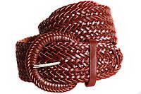 Женский плетеный пояс Dovhani PY4751408 95-110 см Коричневый