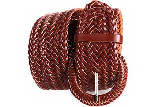 Женский плетеный пояс Dovhani PY4751408 105 см Коричневый, фото 3