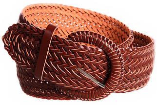 Женский плетеный пояс Dovhani PY4751408 105 см Коричневый, фото 2