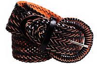 Женский плетеный пояс Dovhani PY4785411 95-110 см Черный