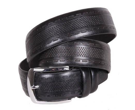 Мужской ремень Dovhani D070841419 115 см Черный, фото 2