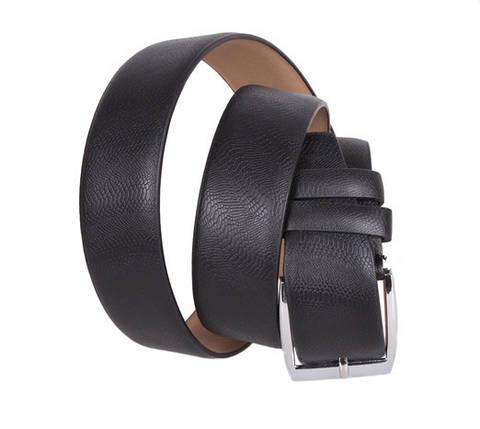 Мужской ремень Dovhani D070847425 115 см Черный, фото 2