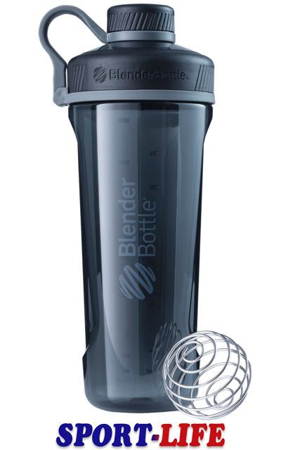 Спортивная бутылка-шейкер BlenderBottle Radian Tritan 940ml Черный