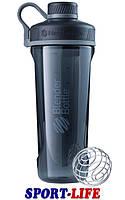 Спортивная бутылка-шейкер BlenderBottle Radian Tritan 940ml Черный, фото 1