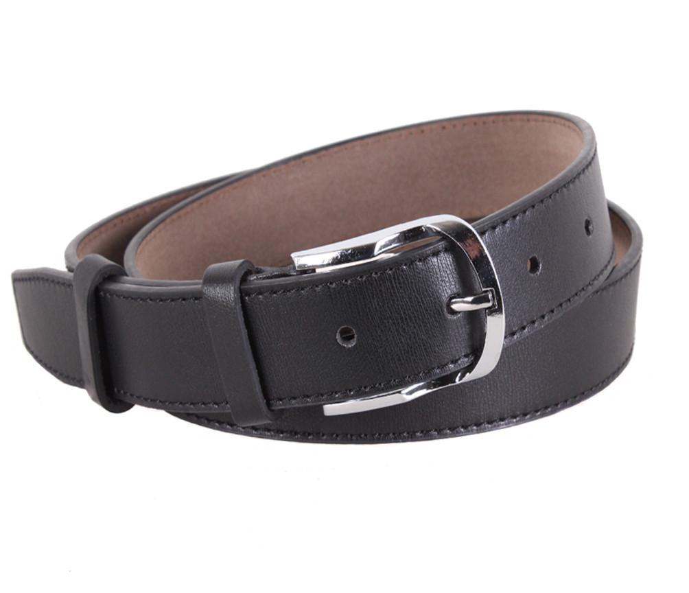 Мужской ремень Dovhani KZM15158-45453 115 см Черный