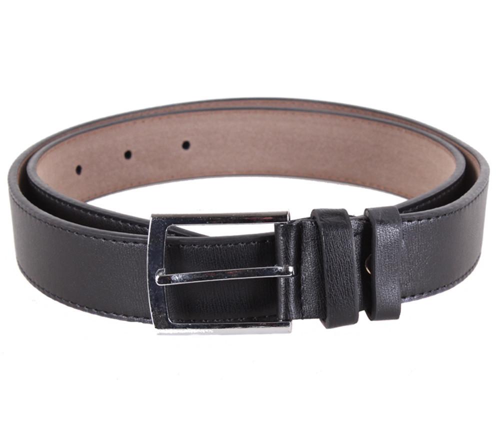 Мужской ремень Dovhani KZM15158-47455 115 см Черный