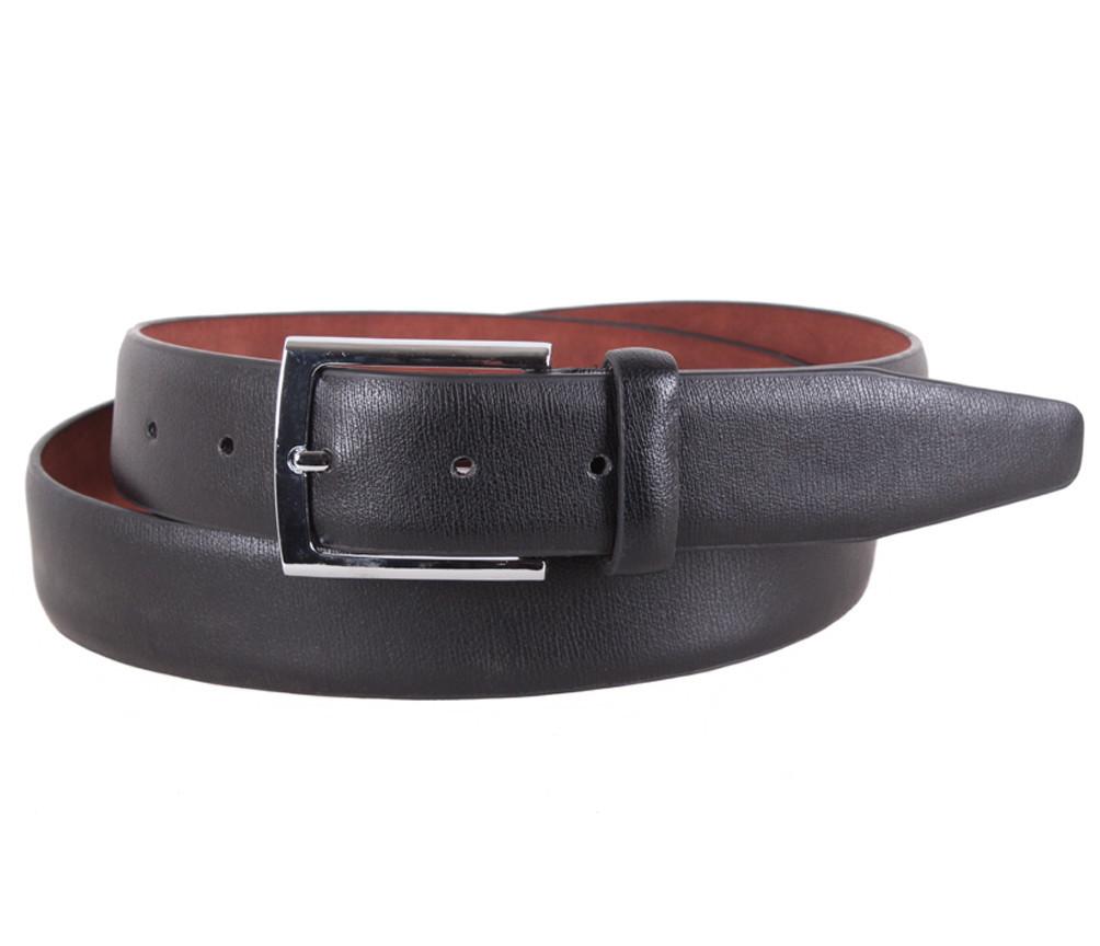 Мужской ремень Dovhani KZM15158-62468 115 см Черный, фото 1