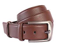 Мужской кожаный ремень Dovhani 301116471 115 см Коричневый, фото 1