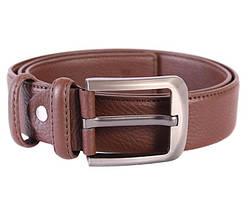 Мужской кожаный ремень Dovhani 301116471 115 см Коричневый, фото 2