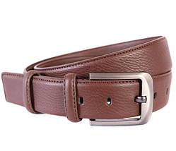 Мужской кожаный ремень Dovhani 301116471 115 см Коричневый, фото 3