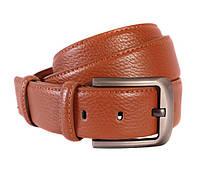 Мужской кожаный ремень Dovhani 301117472 115 см Коричневый, фото 1