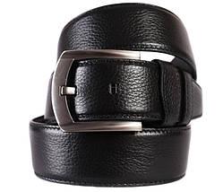 Мужской кожаный ремень Dovhani 301145478 115 см Черный, фото 3
