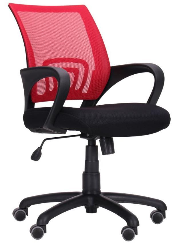 Кресло Веб сиденье Сетка черная/спинка Сетка красная