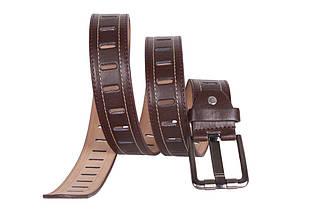 Мужской ремень Dovhani 350746490 115 см Коричневый, фото 3
