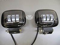 Светодиодная фара LED GV-067- 30W CREE XM-L-T6 - 2 шт.- не слепят встречных., фото 1
