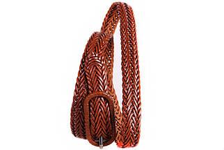 Женский узкий ремень Dovhani кт6467519 105-115 см Коричневый, фото 2