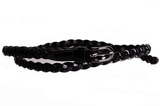 Женский узкий ремень Dovhani кт6743535 105-115 см Черный, фото 2