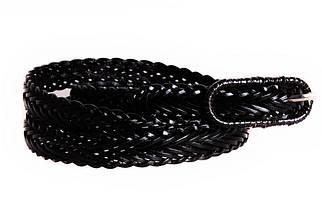 Женский узкий ремень Dovhani кт6811540 105-115 см Черный, фото 3