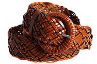 Женский плетеный ремень Dovhani PL4471582 110-115 см Коричневый, фото 1
