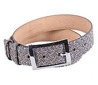 Женский кожаный ремень Dovhani WAK1388-106593 110-115 см Серебристый, фото 1