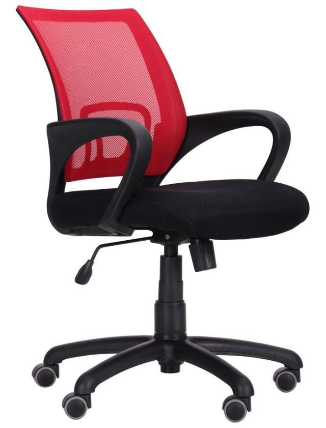 Кресло Веб сиденье Сетка черная/спинка Сетка красная (Фото 2)