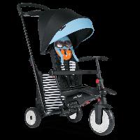 Велосипед триколісний Smart Trike SmarTfold 500 Tots 7 в 1 Black/Blue (5050102), фото 1