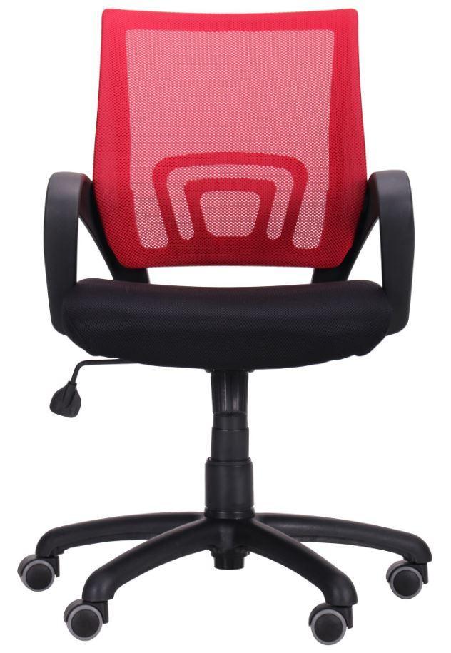 Кресло Веб сиденье Сетка черная/спинка Сетка красная (Фото 4)