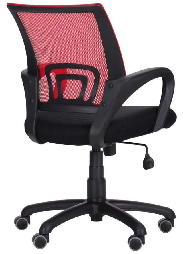 Кресло Веб сиденье Сетка черная/спинка Сетка красная (Фото 5)