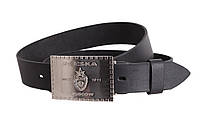 Мужской кожаный ремень Dovhani blx90278696 120 см Черный
