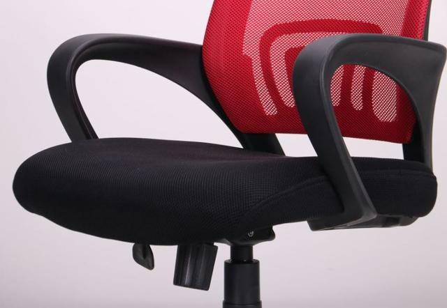 Кресло Веб сиденье Сетка черная/спинка Сетка красная (Фото 6)
