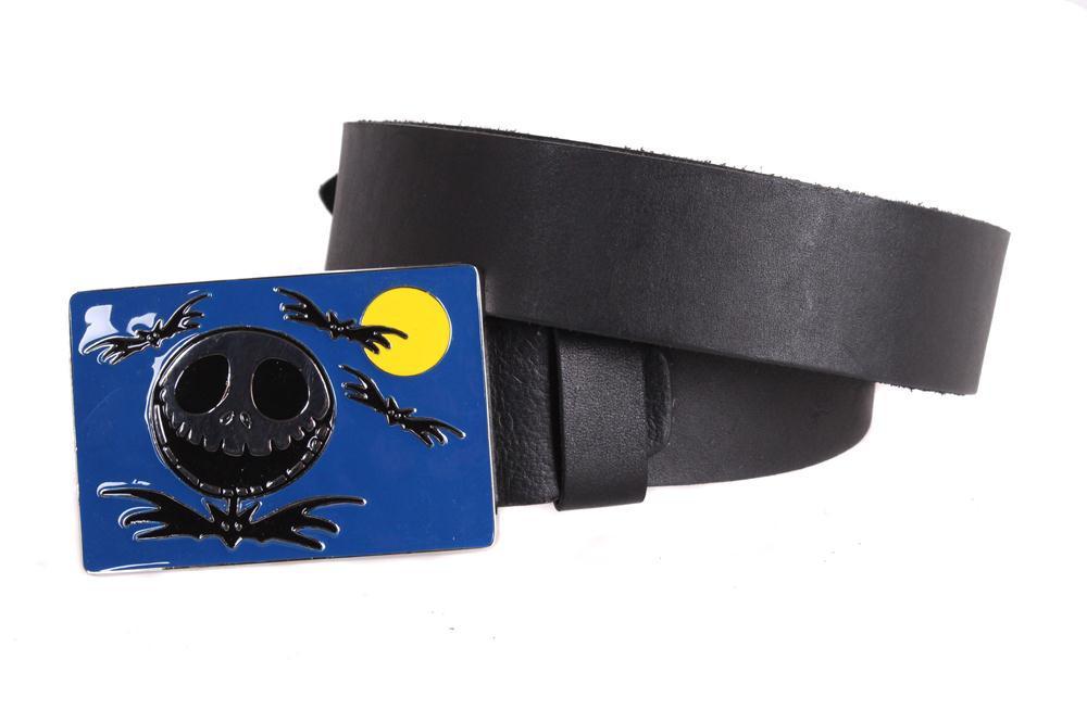 Мужской кожаный ремень Dovhani blx90294705 120 см Черный
