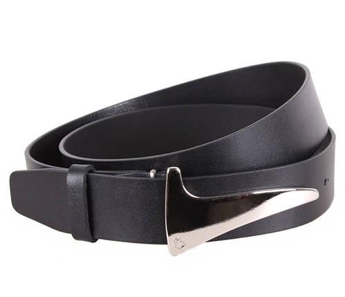 Мужской кожаный ремень Dovhani blx90333738 120 см Черный, фото 2