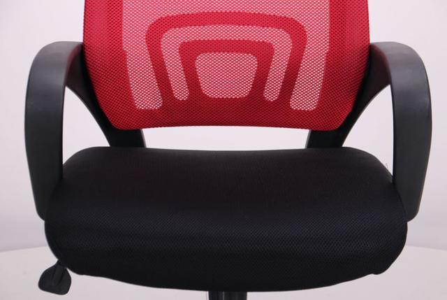 Кресло Веб сиденье Сетка черная/спинка Сетка красная (Фото 8)