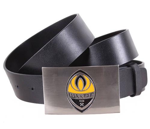Мужской кожаный ремень Dovhani BLX5163-93781 120 см Черный, фото 2