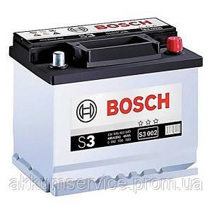 Аккумулятор автомобильный Bosch S3 45AH R+ 400А евро (S3 002)