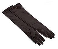 Женские кожаные перчатки Dovhani 7085-1793 Темно-Коричневые