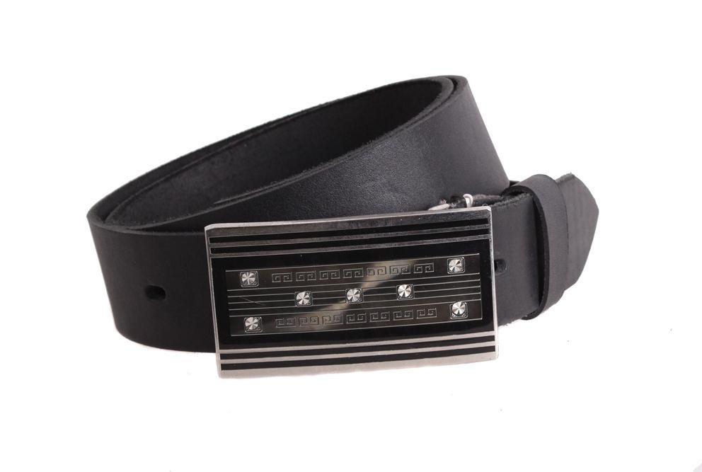 Женский кожаный ремень Dovhani blx90290802 115-125 см Черный
