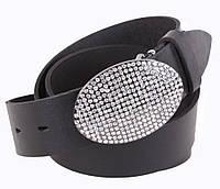 Женский кожаный ремень Dovhani UKK712-17833 115-125 см Черный, фото 1