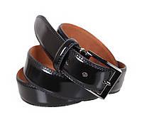 Мужской кожаный ремень Dovhani MJ0007-2846 115-125 см Черный, фото 1