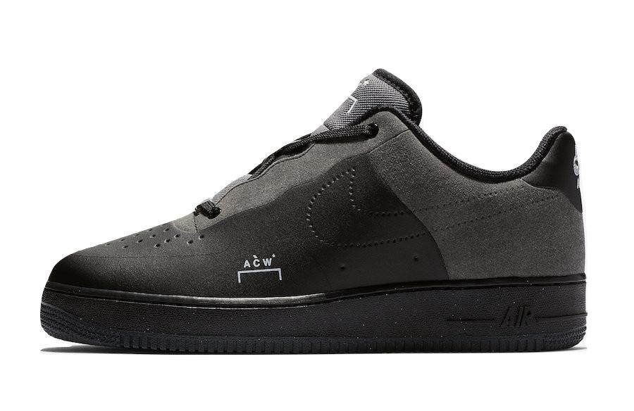 """Кроссовки Nike Air Force 1 Low """"Черные"""""""