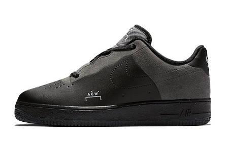 """Кроссовки Nike Air Force 1 Low """"Черные"""", фото 2"""