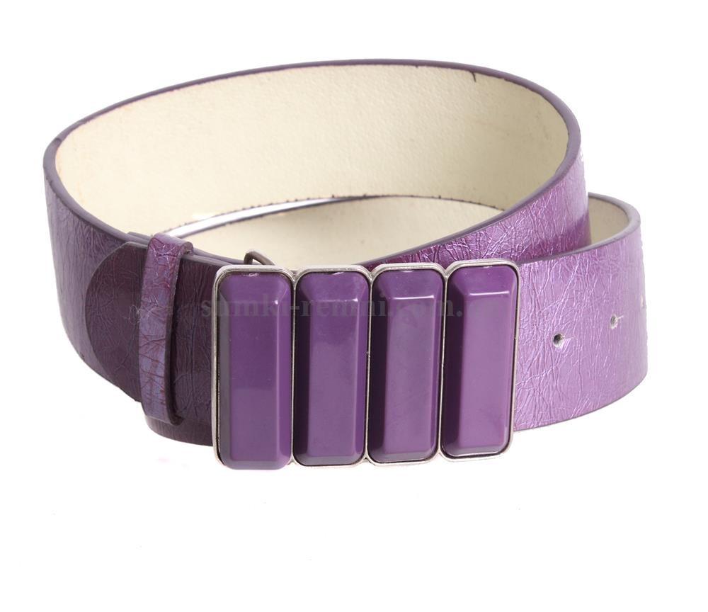 Женский ремень Dovhani COL769-137867 115 см Фиолетовый