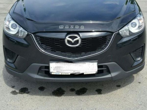 Дефлектор капота (мухобойка) Mazda CX-5 с 2012 г.в.