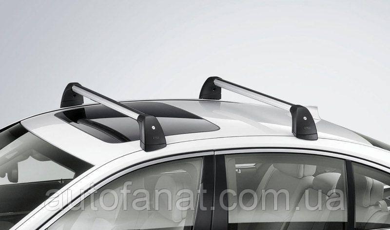 Оригинальные багажные дуги для автомобилей без рейлингов крыши BMW 7 (F01) (82710442704)