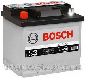 Аккумулятор автомобильный Bosch S3 56AH R+ 480А евро (S3 005)