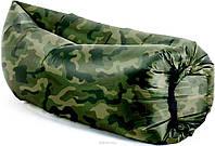 Надувной матрас шезлонг гамак диван Ламзак AIR sofa ARMY 170х100 Акция