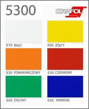 Плівка ORALITE 5300 серія світловідбивна, 6 кольорів, рул. 1,235х50м, фото 2